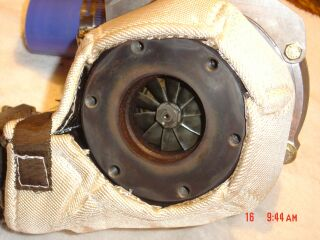 Frontier Turbo silver heat shield