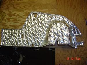 silver heat shield film